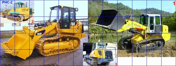 "CATERPILLAR ...""track loader world leader""."